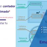 Emacsa recomienda la autolectura del contador